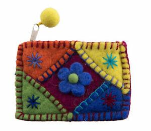 Monedero-13cm-Fieltro-Multicolor-Flor-Rotulador-Nepal-26969