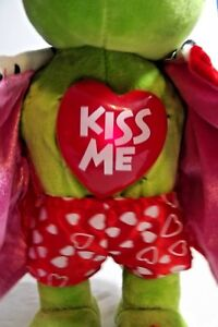 Frog-Green-Animated-Plush-Toy-Doll-Lovers-Sweethearts-Singing-Your-Unbelievable