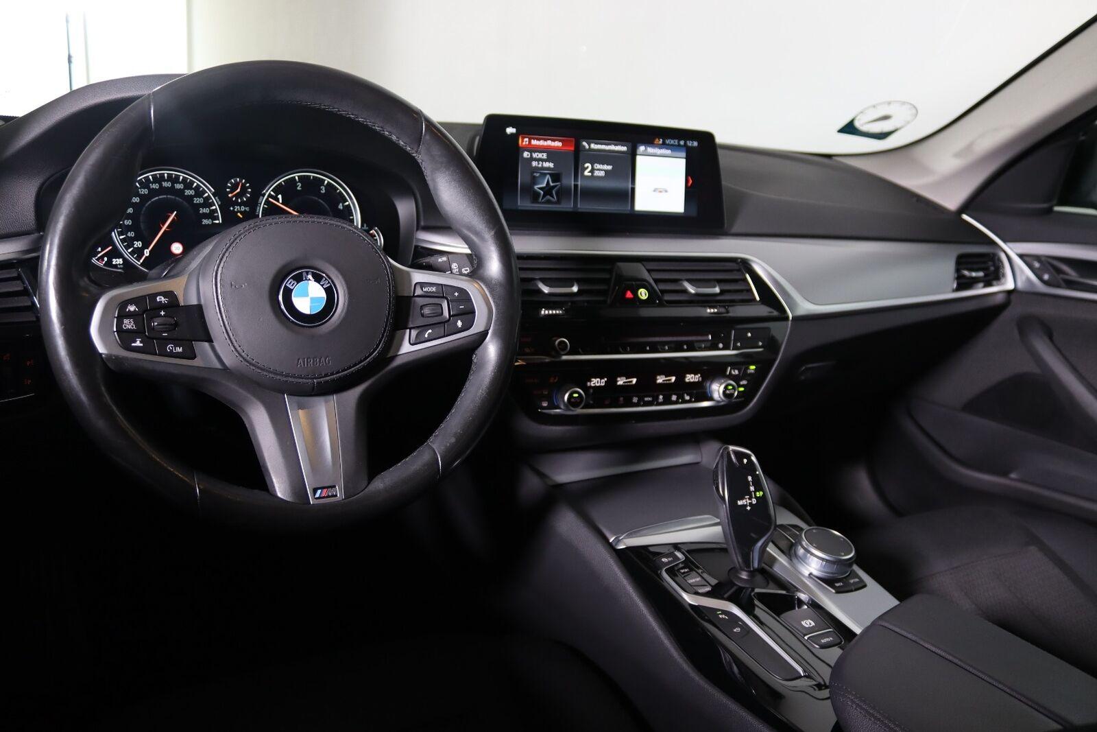 BMW 520d 2,0 Touring aut. - billede 8