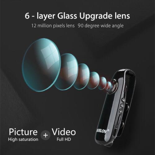 1080P Full HD Mini Camera Dash Cam Police Body Bike Camcorder Loop Recording Pen