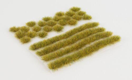 WWS 6mm Dead Static Grass Modeling Tufts/Strips Mix - Railroad Warhammer 40k