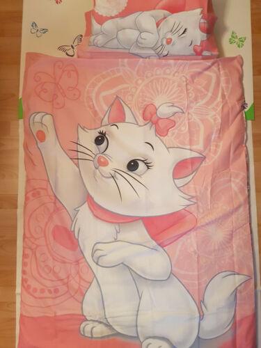 Babybettwäsche Kätzchen Bezug 100 x 135cm Kissen 40 x 60cm