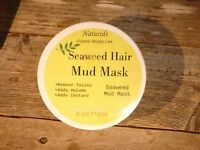 Seaweed & Clay Hair Mud Mask 8oz Excellent Hair Treatment -adds Texture & Volume