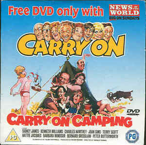 CARRY-ON-CAMPING-Starring-Sid-James-Kenneth-Williams-amp-the-gang-DVD
