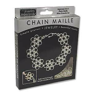 Japanese-6-in-1-pattern-Silver-Bracelet-Kit