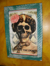 Day of the Dead-Mexican Folk Art-#30-Dia De Los Muertos Framed-13x19-Katrina