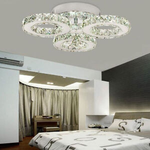 24w Led Crystal Ceiling Chandelier 3