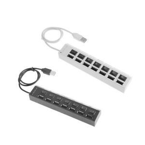 For-Computer-Hub-5Gbps-7-Ports-Splitter-Socket-High-Speed-With-Switch-165mm