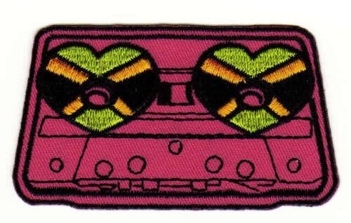 Casete ad33 música DJ tape Retro Vintage Patch perchas imagen Patch 8,5 x 4,8 cm