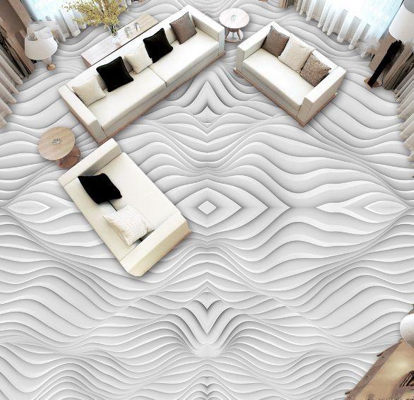 3D striscia grano art Pavimento Foto Wallpaper Murales Muro Stampa Decalcomania