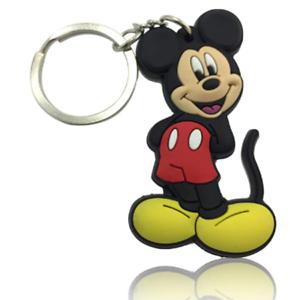 Mickey-Mouse-Disney-PVC-Kawaii-Cute-Cartoon-Novelty-Keyring-Keychain-Gift-Bag