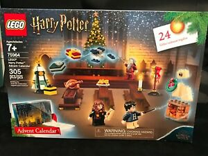 305 Piece Set New 2019 LEGO Harry Potter Advent Calendar 75964 Building Kit -
