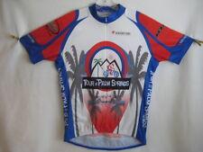 Blackbottoms TOUR De PALM SPRINGS CYCLING Bike SHORT SLEEVE JERSEY 3/4 Zip XL