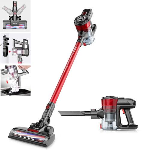 ONSON Cordless Vacuum Cleaner Upright Handheld Stick Robotic Clean Refurbished