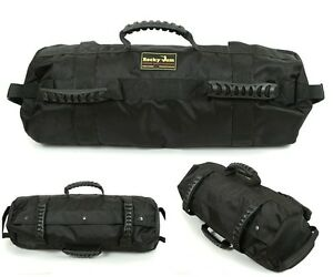 Image Is Loading Crossfit Sandbag Heavy Duty Training Rockyjam Sand Bag