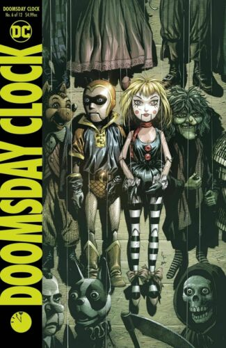 Doomsday Clock #6 Main /& Variant 1st Print DC Comics 2018