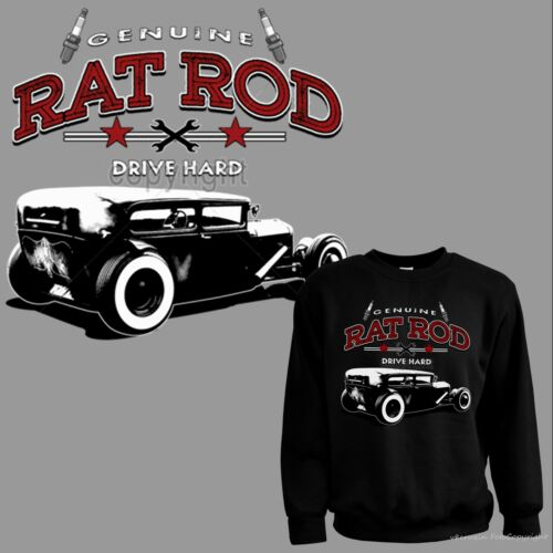 * Sweatshirt Pullover Rockabilly Hot Rod Auto Oldtimer Kustom Vintage Car *1049