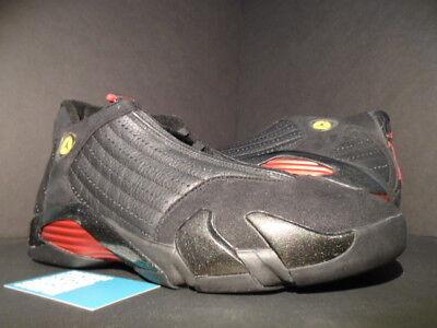 nouveau concept 97b63 f993b 1999 OG ORIGINAL NIKE AIR JORDAN XIV 14 LAST SHOT PLAYOFF BRED BLACK RED DS  11.5   eBay