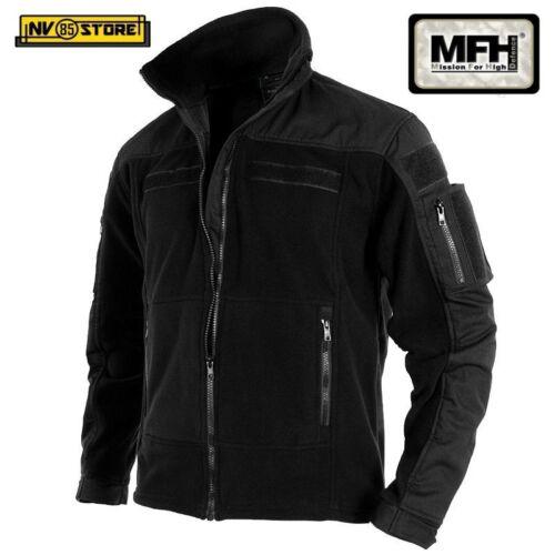 Tattica Caccia Militare Black Mfh Softair Vest Felpa Pile Bk Multitasche Combat g0YY4w