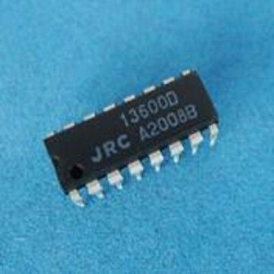2PCS LM13600N OP-AMP DUAL BIPOLAR 16-DIP