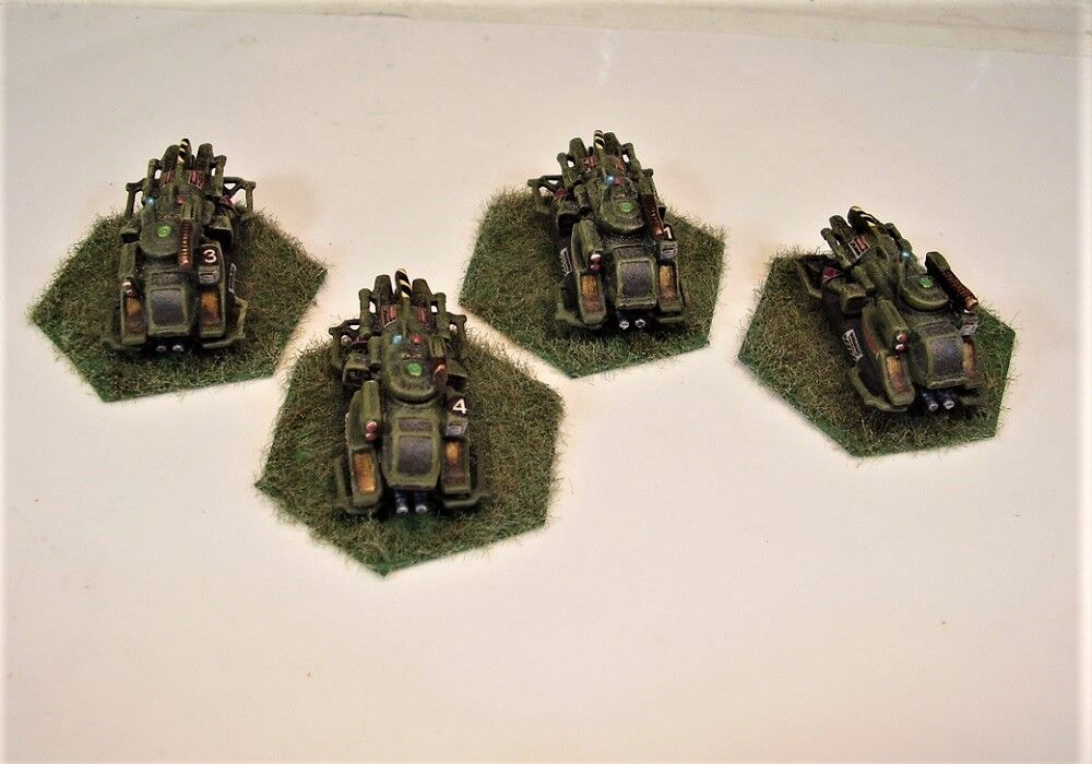 Mecharrior Battletech painted miniature Scout Scout Scout Car Lance OD b5c8ea