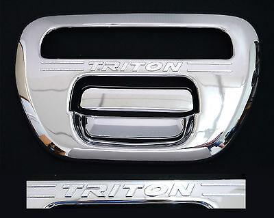 Mitsubishi L200 B40 Rear Tail Gate Handle Chrome 05+ 2.5DID Pick up tailgate 06