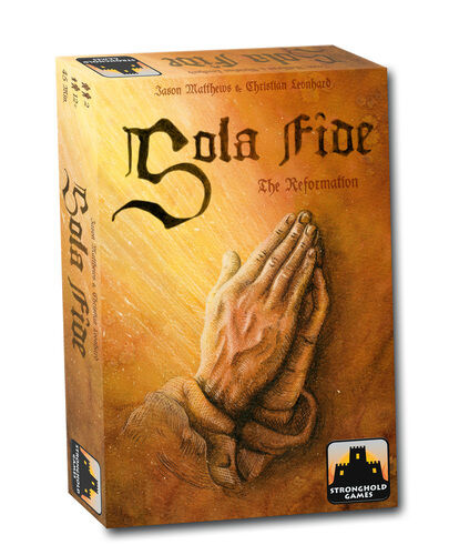 Très, la surprise vous attend Sola Sola Sola Fide: The Reformation, Boardgame by Stonghold Games, English, New 605632