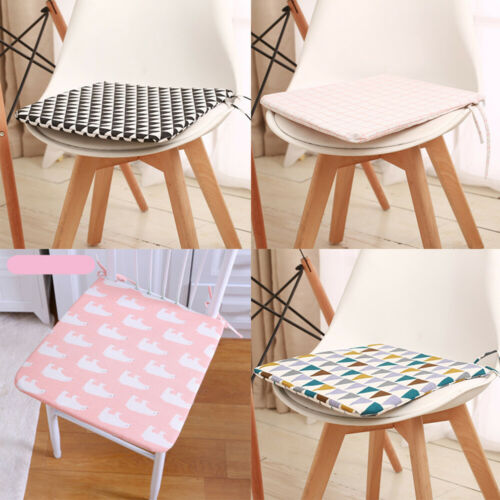 Comfortable Soft Mat Indoor Outdoor Non-Slip Chair Seating Cushion Pad with Ties