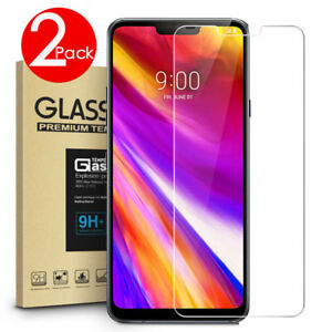 2-PACK-Premium-9H-Tempered-Glass-Screen-Protector-For-LG-G7-ThinQ