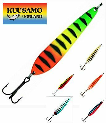 11g Various Colours Kuusamo Rasanen Pearl Spoon Fishing Lure 5.0cm