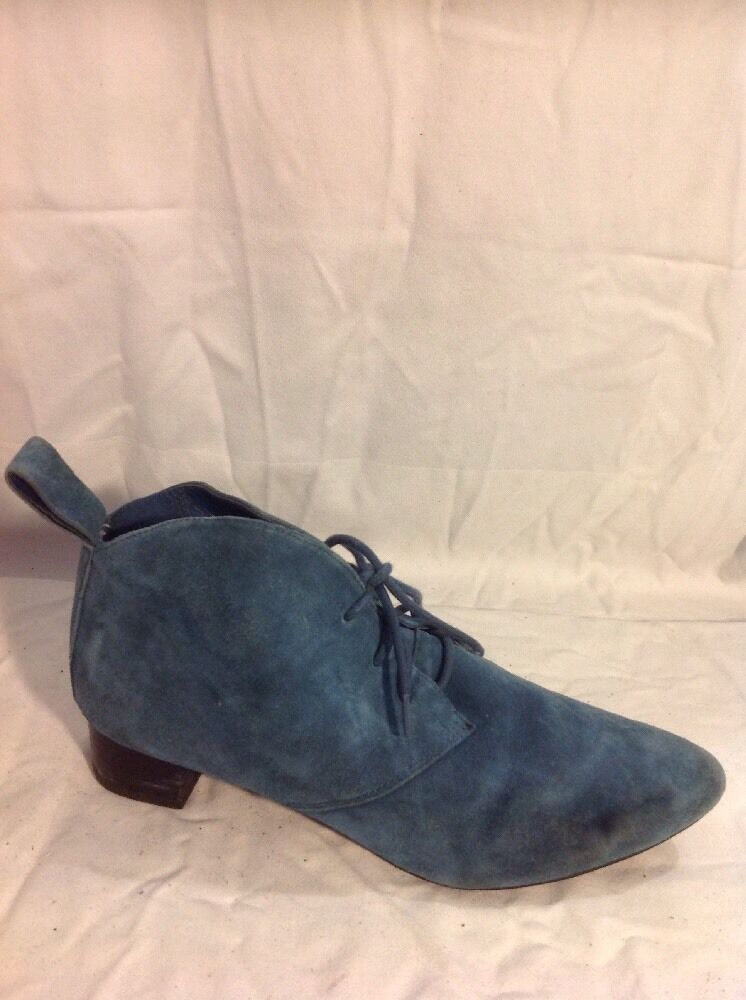 Clarks Green Ankle Suede Boots Size 5D