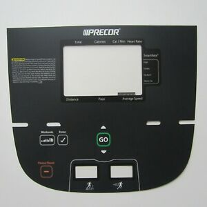 Precor P10 811 Treadmill Display Overlay Keypad