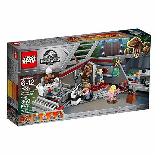 Lego Jurassic World Jurassic Park VELOCIRAPTOR  Chase 75932 360 pcs  produit de qualité d'approvisionnement