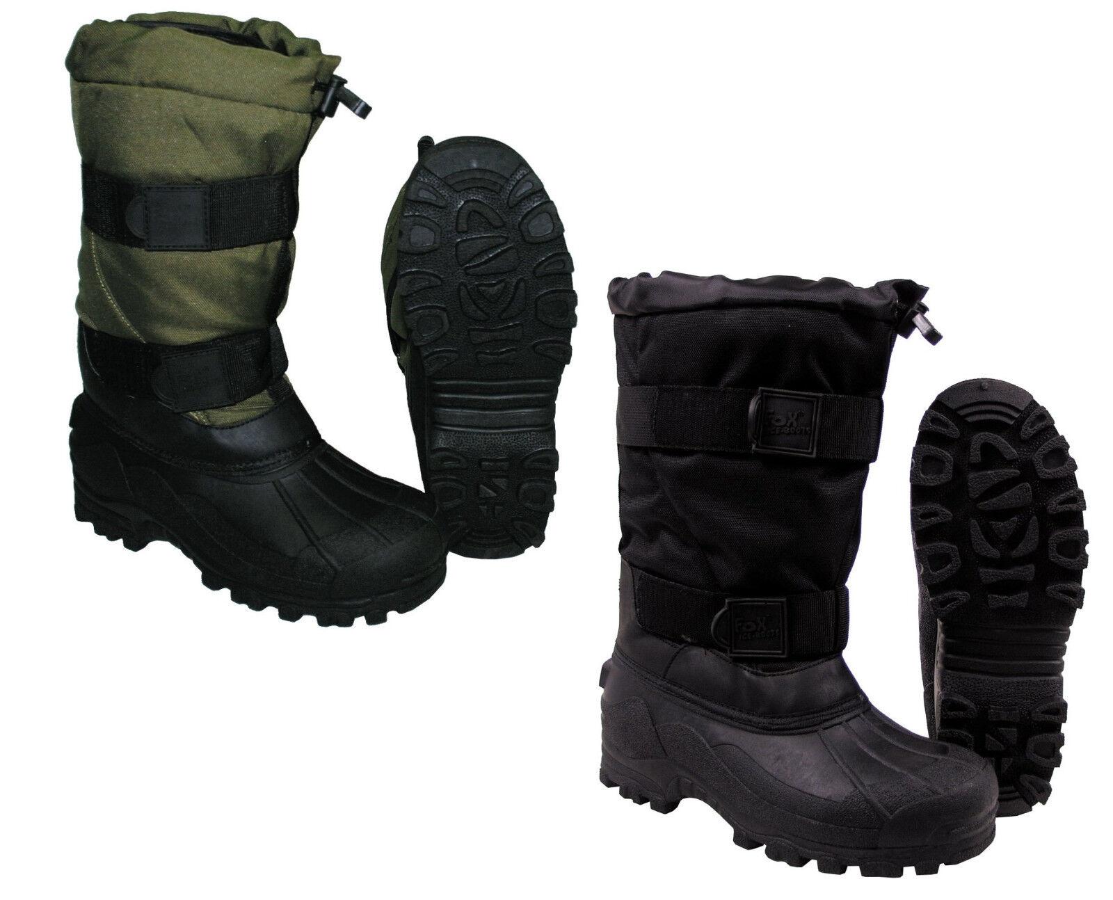 Kälteschutzstiefel Thermostiefel FOX ICE Stiefel Thermostiefel Kälteschutzstiefel bis -40°C, Winterstiefel Grün 7b2b2e