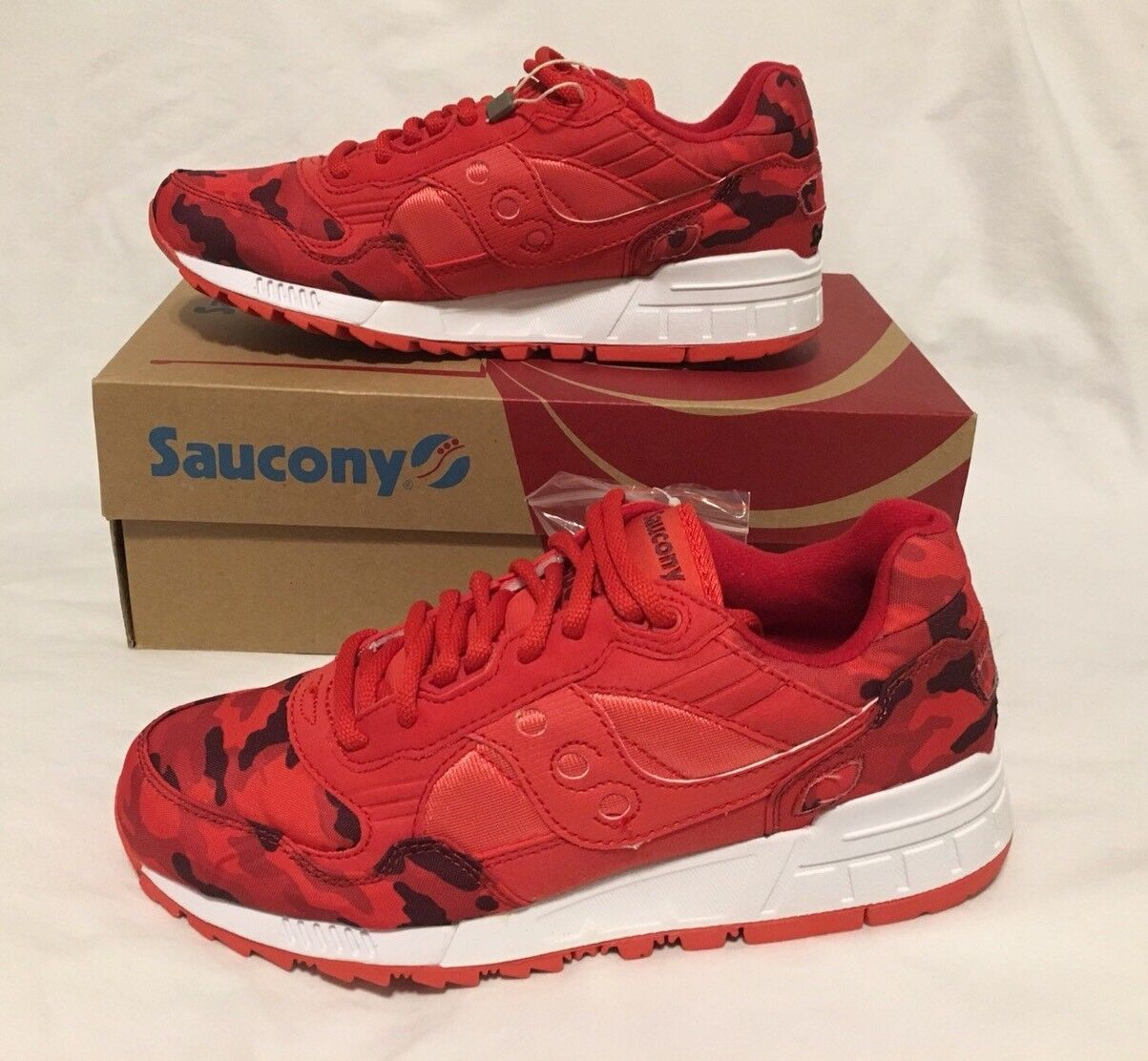 SAUCONY SHADOW 5000 Trainer rot     Camouflage S70255-3 BNIB Uk6 Eu 40 Us7 fa780c