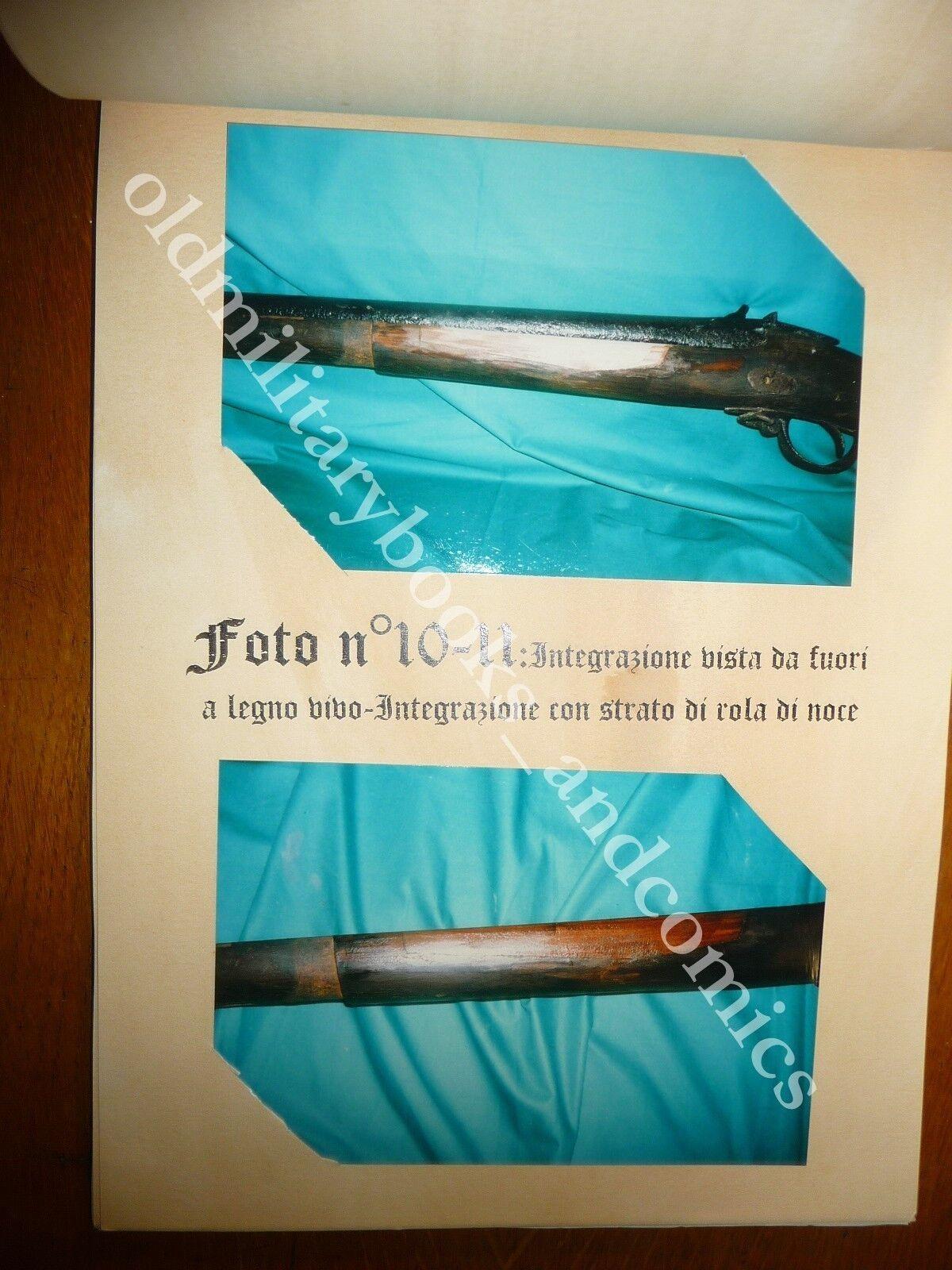 FUCILE AD AVANCARICA ST. ETIENNE 1848 Vol RESTAURI FUCILE FATTI ARTIGIANALMENTE