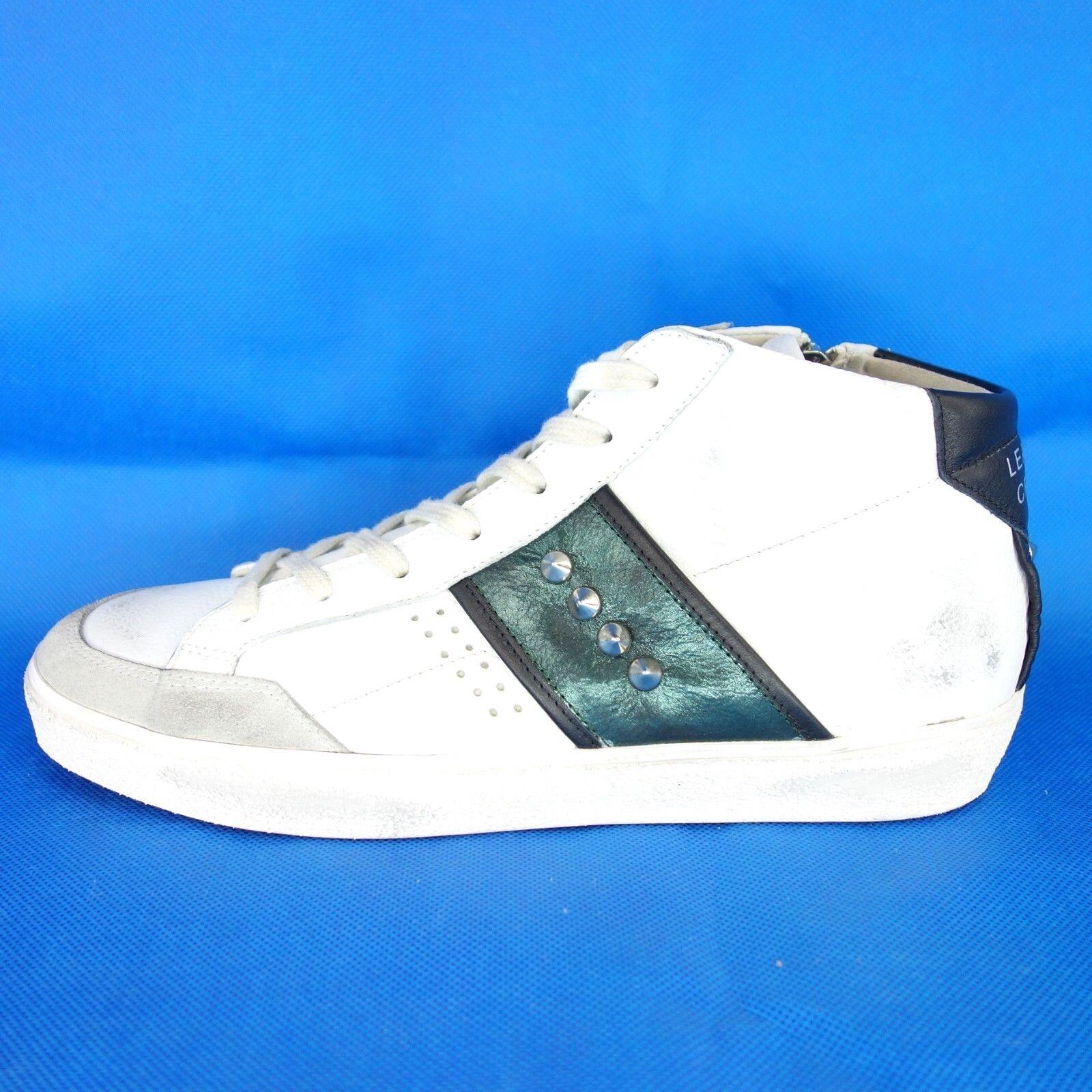 les hommes en chaussures cuir chaussures en couronne 42 chaussures blanches np 339 nouvelles cd29c4