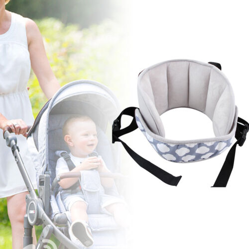 Head Support Car Seat Sleeping Baby Kids Chair Fixed Strap Pad Cushion Portable
