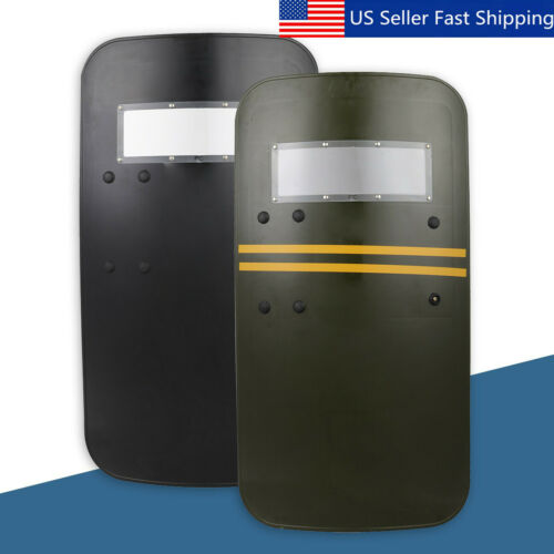 35/'/' Tactical Anti Riot Law Enforcement Impact Police Arm Hand Shield