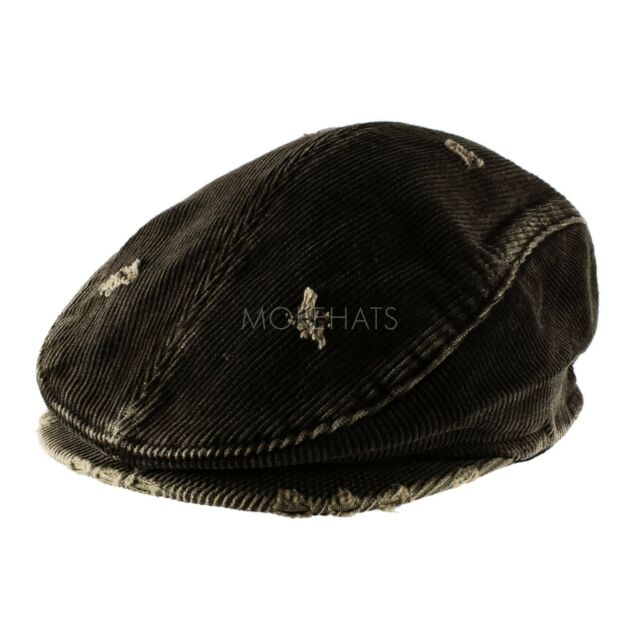 Corduroy Cotton Newsboy Cabbie Cap Hat Mens Womens Unisex Warm Daily Casual