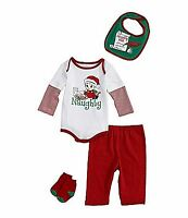 Starting Out Baby Boys 3 Month 4-piece Naughty Set
