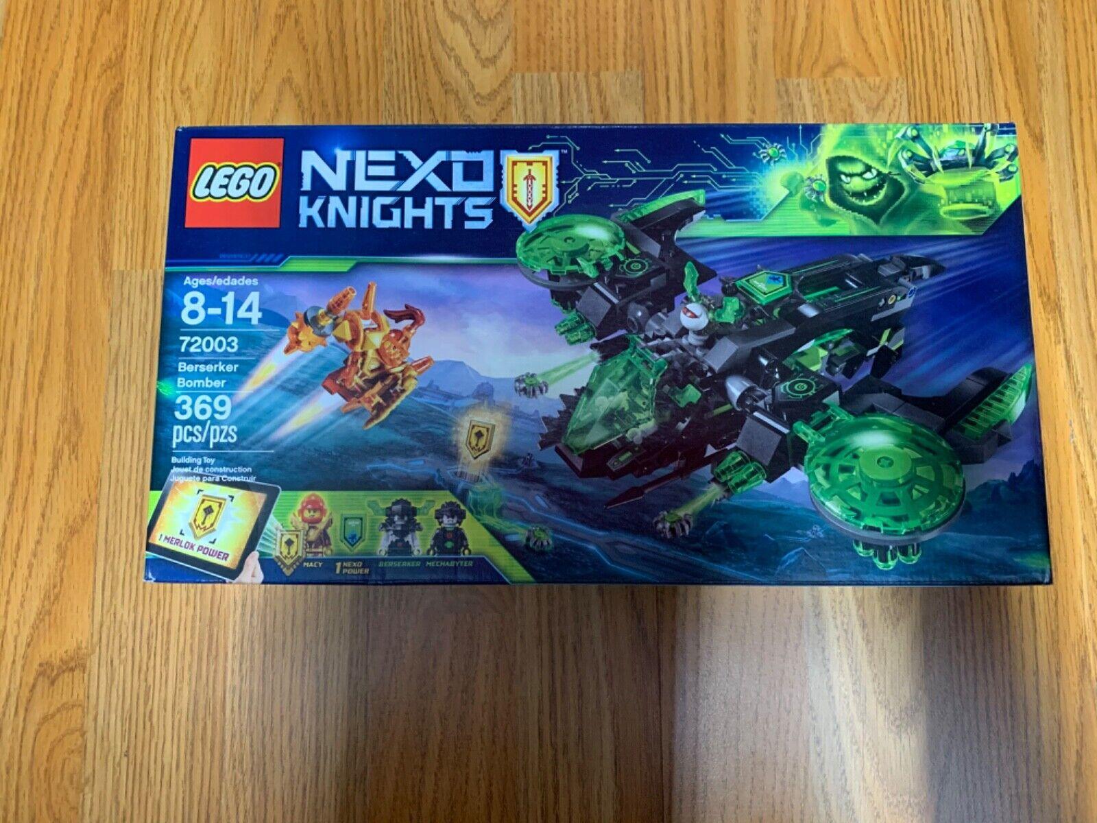 72003 BERSERKER BOMBER lego castle NEW legos set NEXO KNIGHTS macy mechabyter