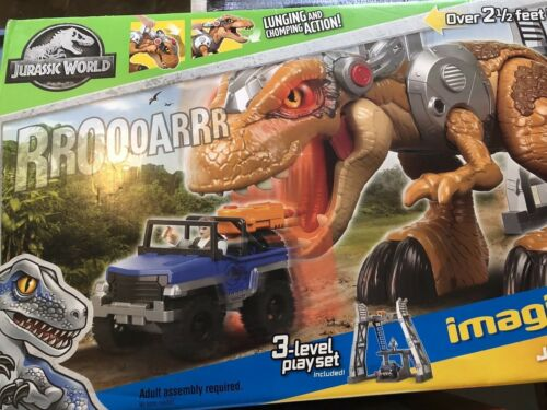 Jurassic World Imaginext Jurassic Rex New