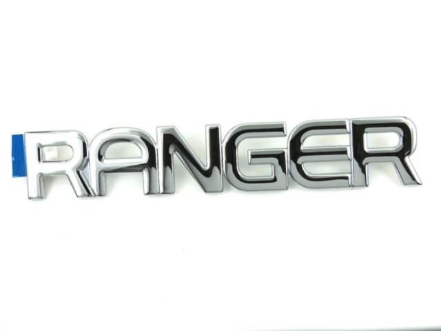 Genuine New FORD RANGER LH SIDE WING BADGE Left Emblem 1999-2002 Pick Up TDCi