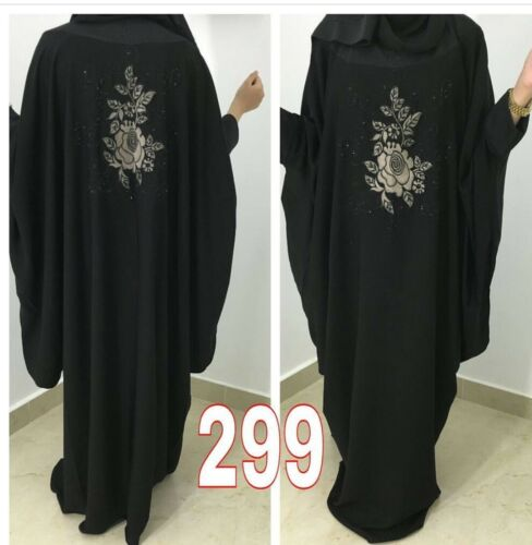 Dubai Stile Musulmano Abaya Farasha Jalabiya Maxi Caftano Jalabiya Burka