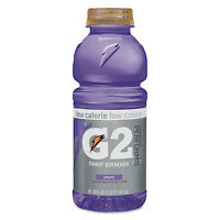 Gatorade G2 Perform 02 Low-calorie Thirst Quencher Grape 20 Oz Bottle 24/carton