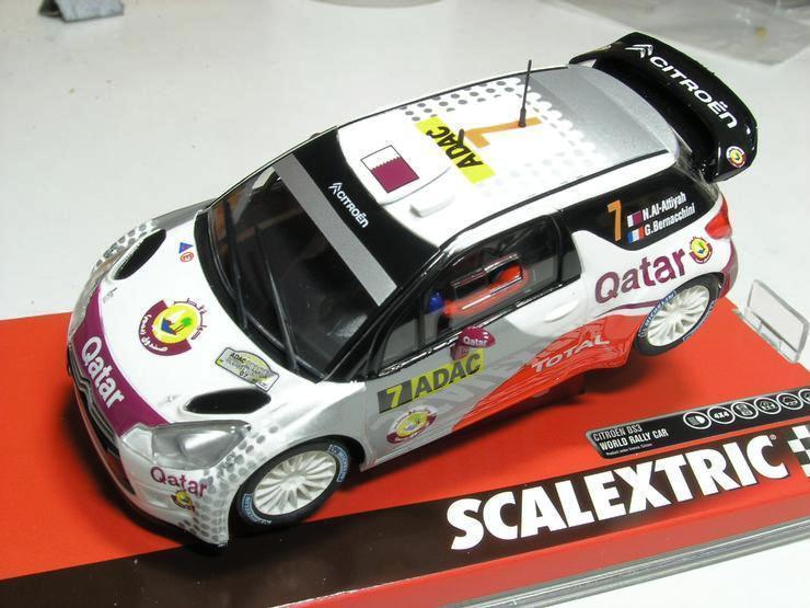 SCX Ref. A10120S300 CITROEN DS3 WRC QATAT 1 32 NEW NEW