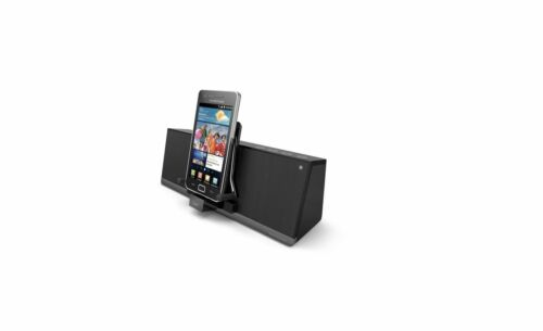iLuv MobiAir Bluetooth Stereo Speaker Dock Smartphones with Micro-USB Charging,