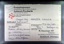 Camp Stalag 369 Kobierzyn 1943 POW France Prisoner Kriegsgefangenenpost K14d