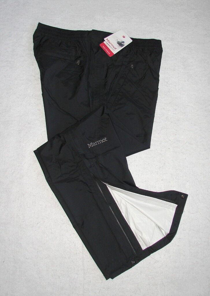 MARMOT NanoPro PreCip FULL ZIP Waterproof Rain Pants  Men's L  NEW